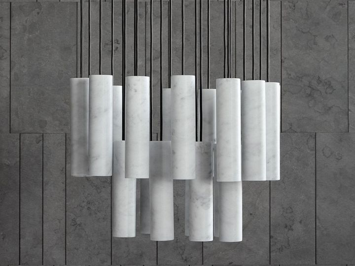 The Marble Cylinders Of David Lopez Quincoces