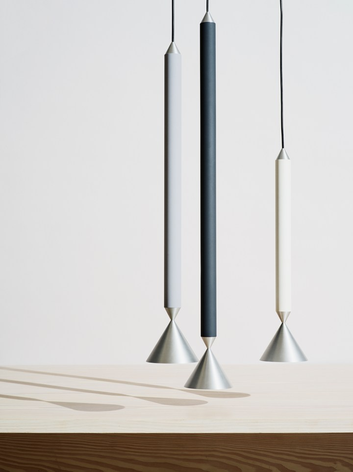 Apollo: a lamp with very high sense of material presence