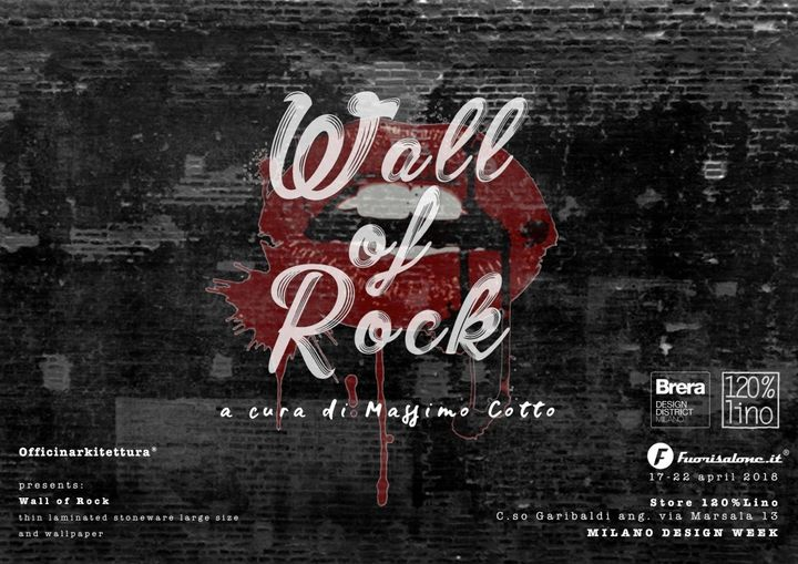 Wall of Rock by Officinarkitettura