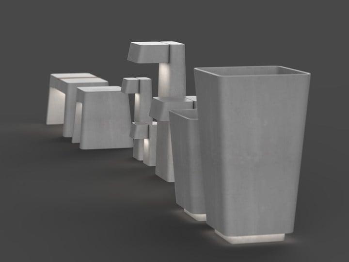 Brenta collection, design by EMO design
