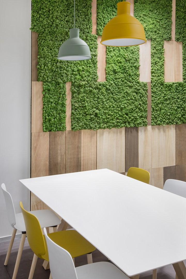 Spazi di lavoro smart e flessibili firmati degw italia for Pareti verdi verticali