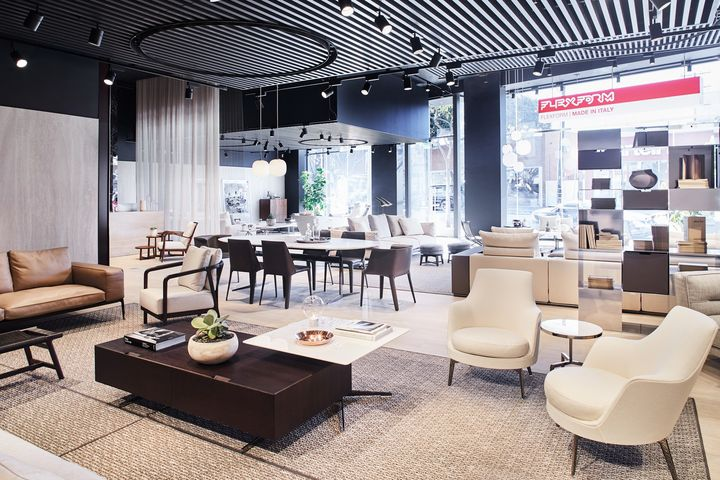 Opens The New Flexform Los Angeles Flagship Store