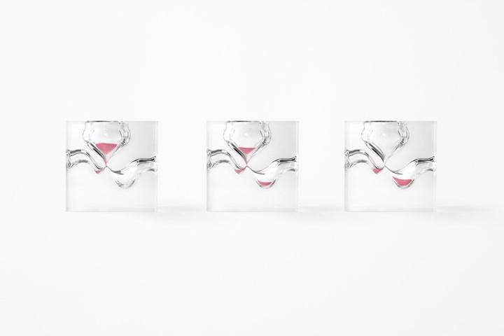 Time designed by nendo
