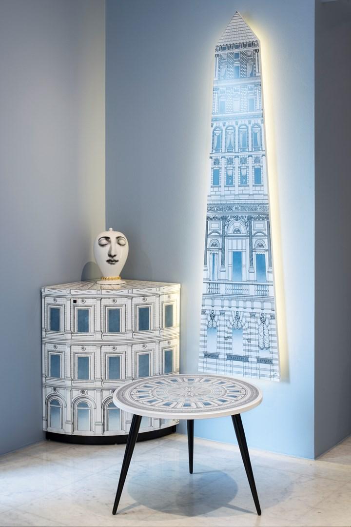Le 'architetture celesti' secondo Fornasetti