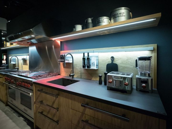 La cucina oversize di Marc Sadler per Riva 1920