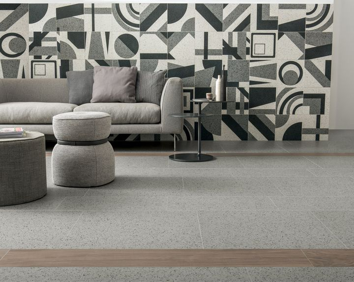 Grandi formati e texture naturali per le superfici ceramiche