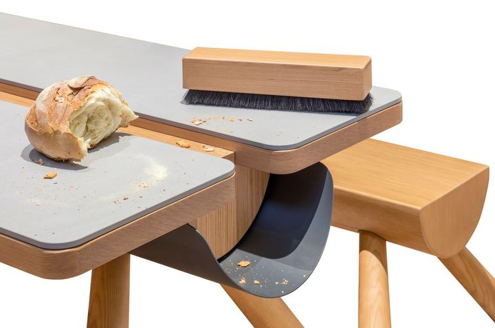 Matteo Ragni reinterpreta l'iconico tavolo francescano