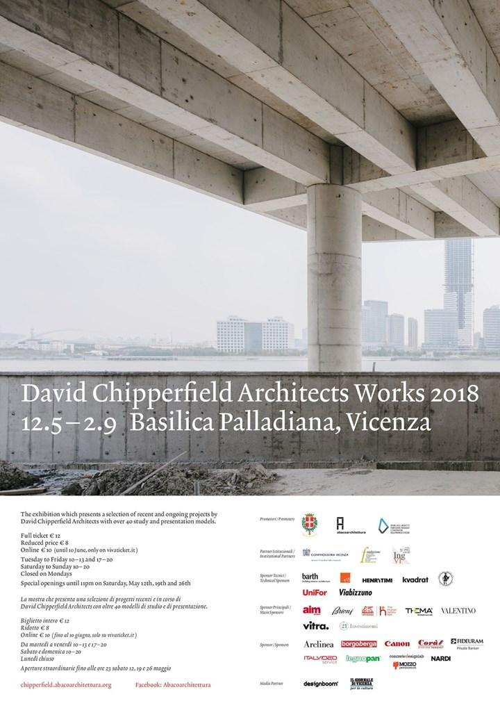 Nardi sponsor della mostra David Chipperfield Architects