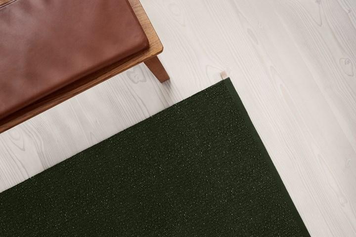 Il tappeto si ispira ai paesaggi svedesi