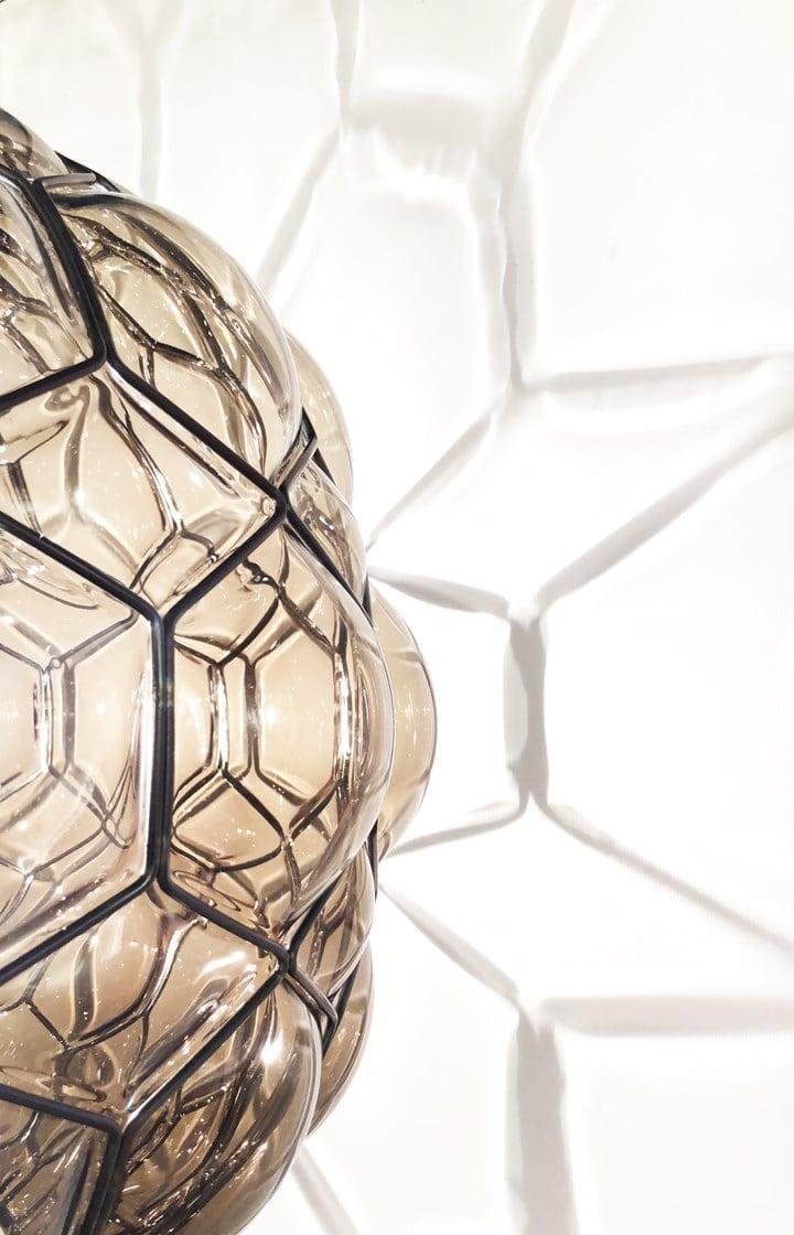Galapagos, la nuova lampada Siru in vetro di Murano