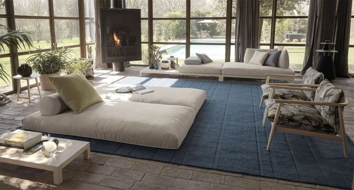 Un 'divano-non-divano' ispirato al tatami