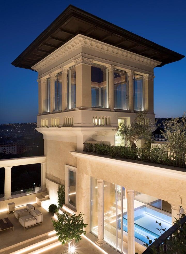 Talenti sui tetti di Roma