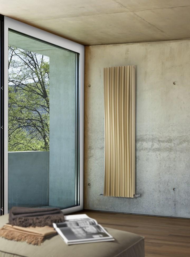 HARP di Deltacalor,  il nuovo radiatore idraulico firmato Davide Vercelli
