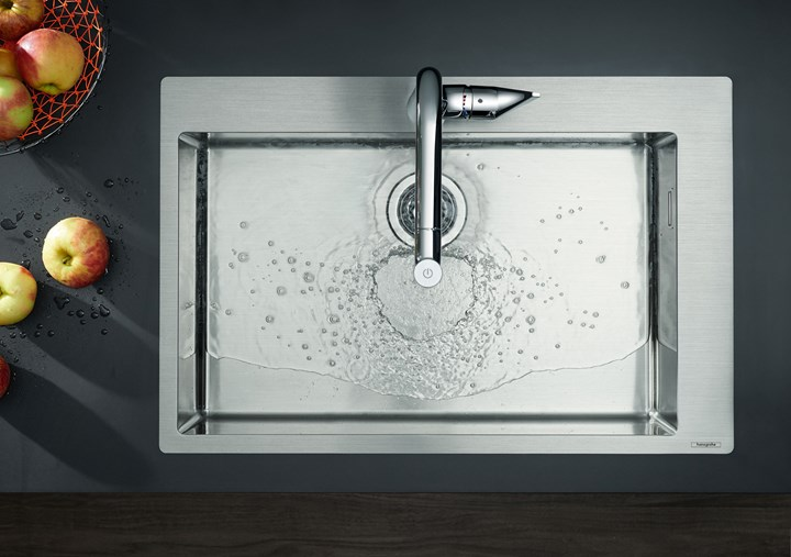 Hansgrohe. Nuovi standard in cucina