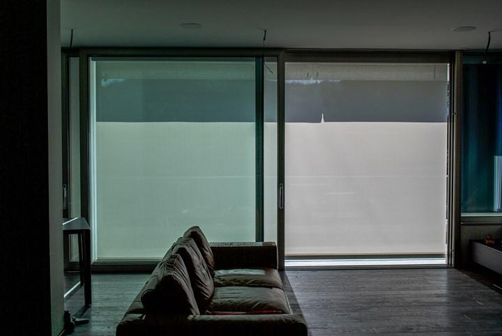 Spazio alla luce in un appartamento alle pendici del Gran Sasso