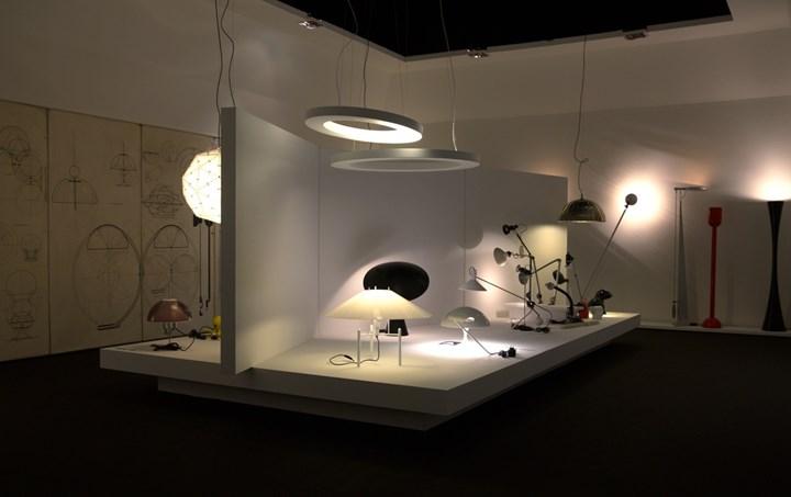 Elio Martinelli e la Martinelli Luce - Mostra Lucca