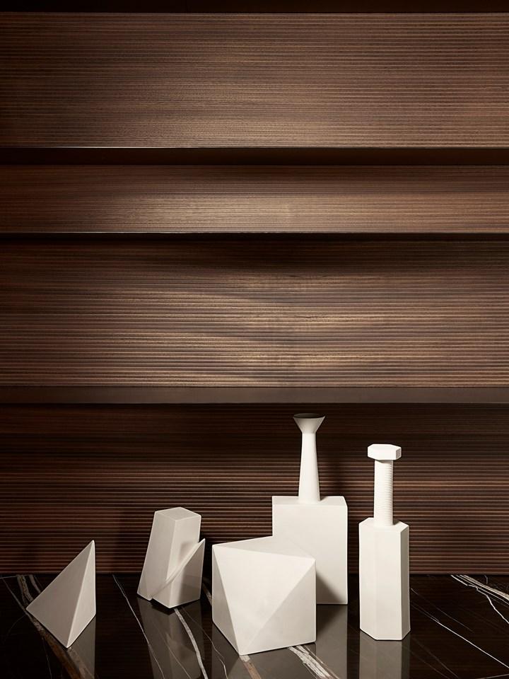 Modern by Lissoni. Asimmetrie, abbinamenti materici, pieni e vuoti