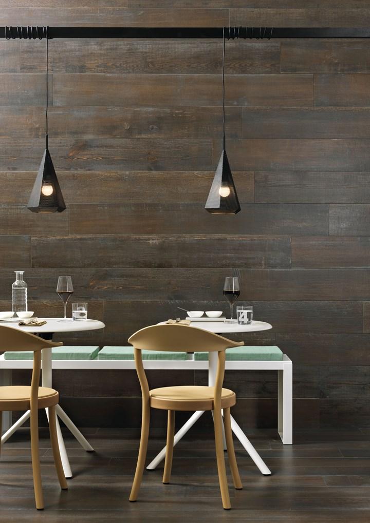 Il gres porcellanato racconta la storia del legno