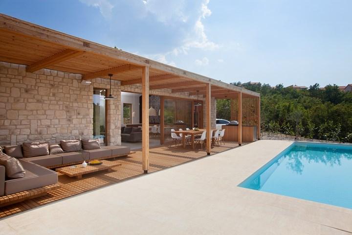 Microtopping® di Ideal Work® per una casa vacanze in Croazia