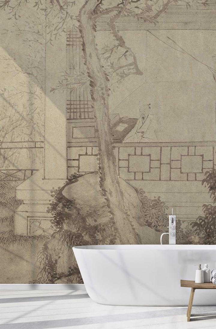 Le carte da parati WallPepper® per il bagno