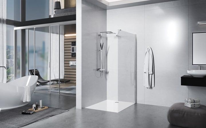 libero 3000, la nuova cabina doccia walk-in di duka