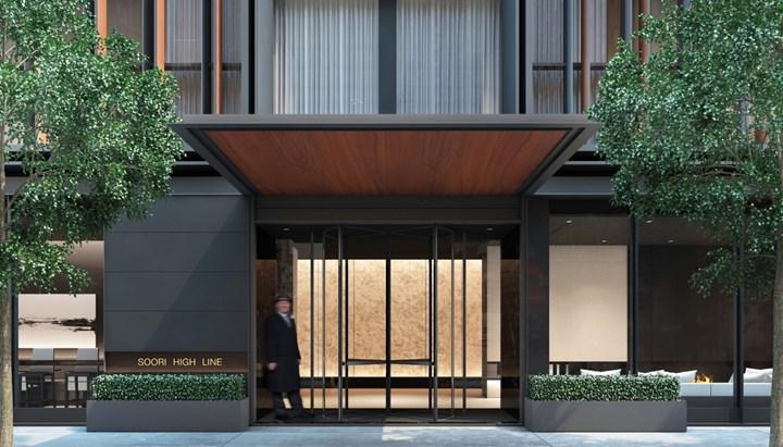 Un nuovo progetto Flexform a New York, nel quartiere di West Chelsea