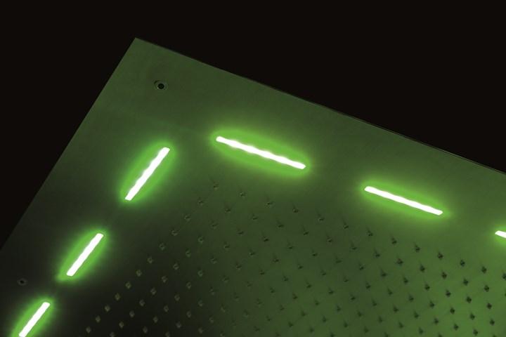 Soffioni doccia in acciaio inox totalmente green