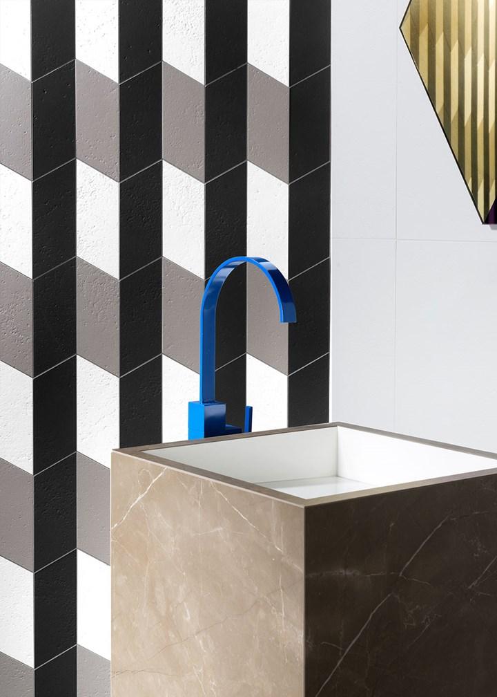 Total look per il bagno con Fiandre Architectural Surfaces