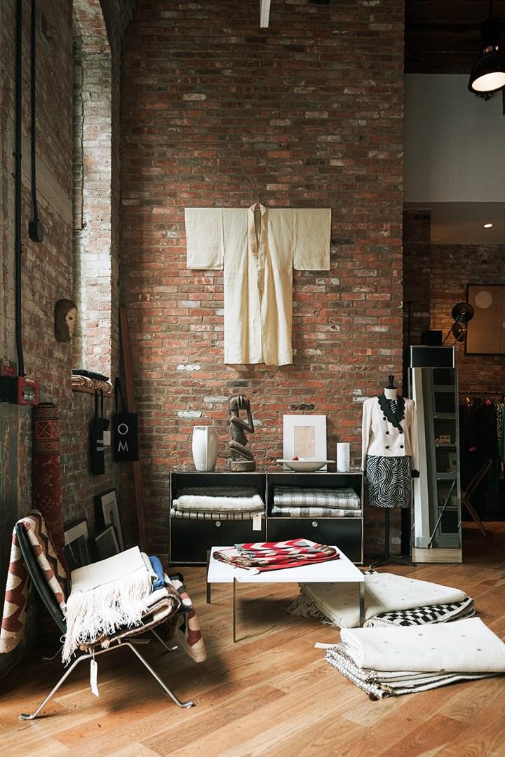 USM a Brooklyn, tra pezzi vintage e ambienti industrial