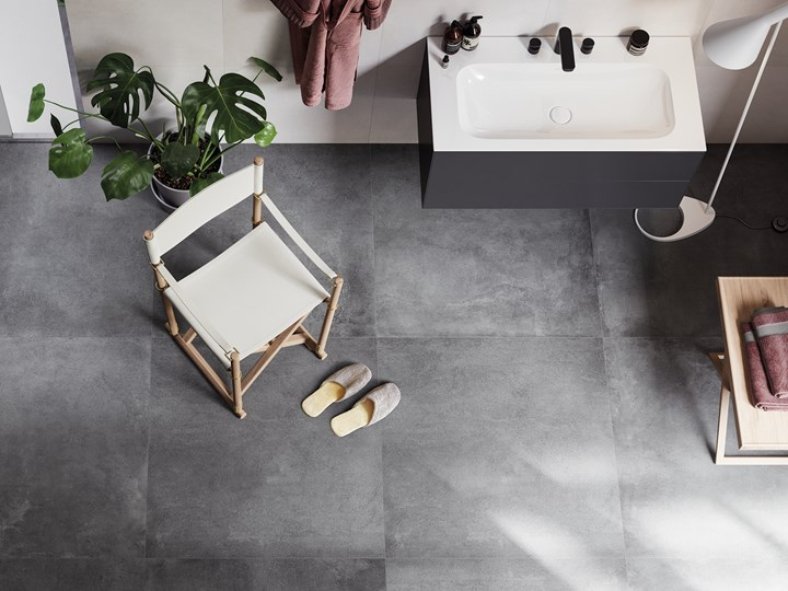 A new interpretation of minimalist concrete effect