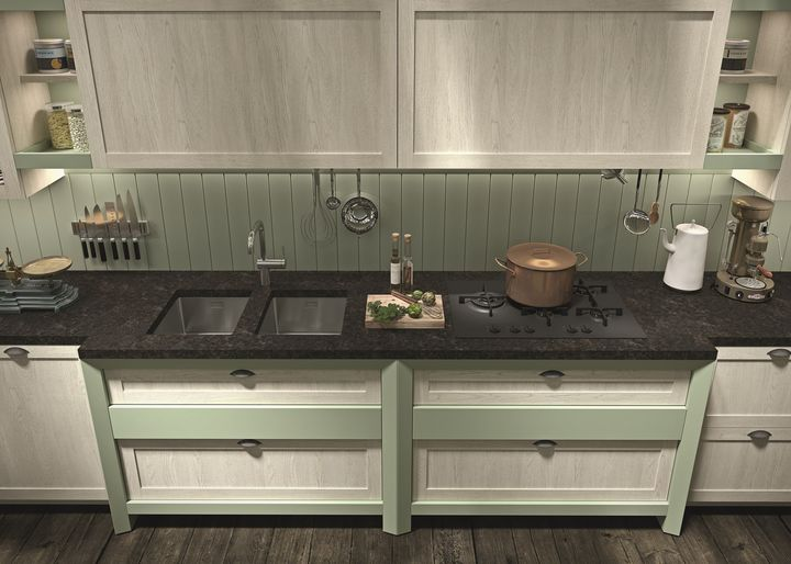 La cucina in stile country si reinventa