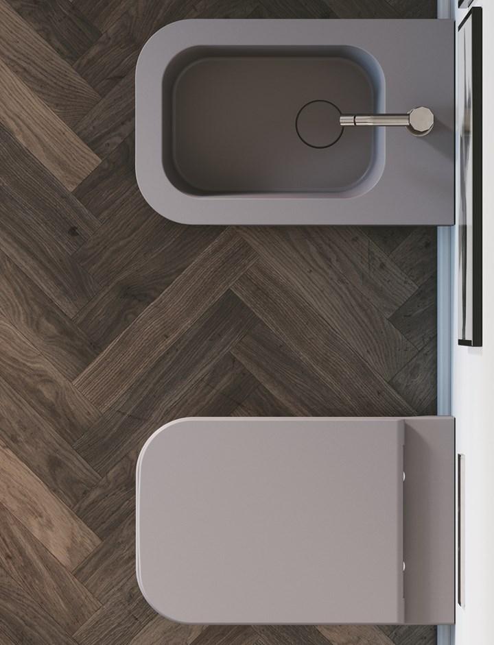 Forme pure, spessori sottili. REVOLUTION® by SDR Ceramiche