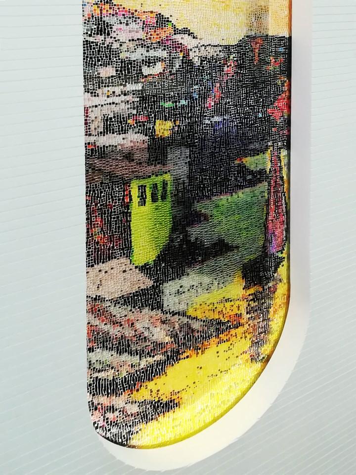 La Vucciria di Renato Guttuso diventa mosaico