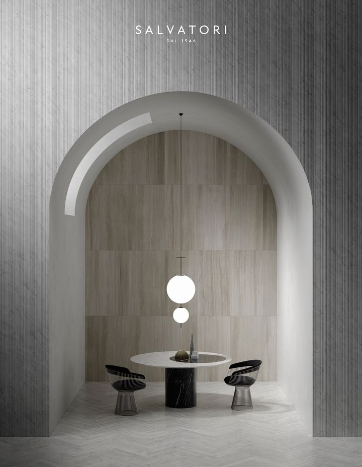 Le superfici in marmo secondo Piero Lissoni