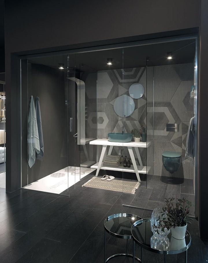Il 'total living bathroom' del Gruppo Geromin