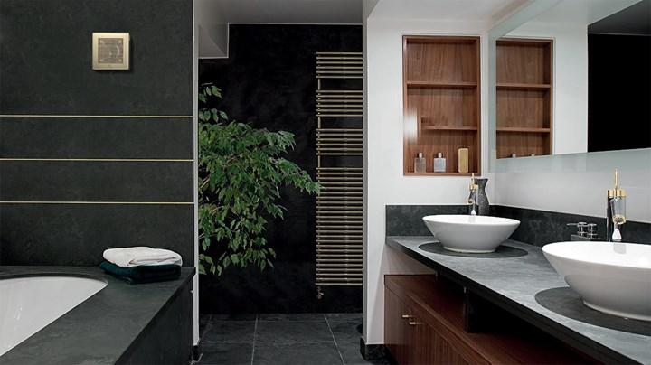 Innovativo e di design l aspiratore da muro punto evo gold di vortice