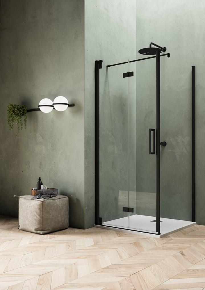 Dettagli total black per il bagno