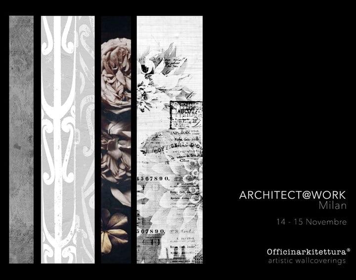 Officinarkitettura® ad Architect@Work Milano