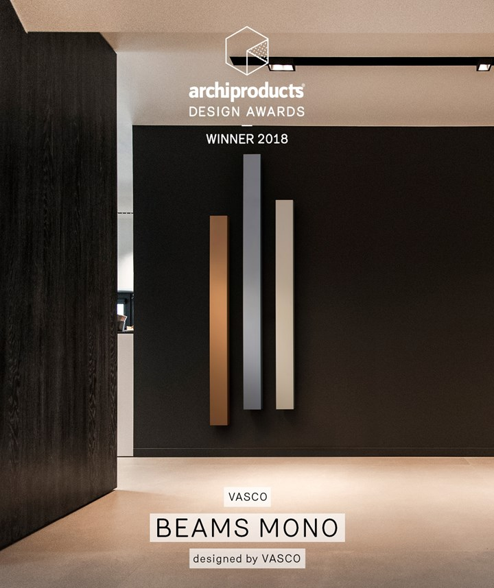 Beams Mono di Vasco agli Archiproducts Design Award 2018
