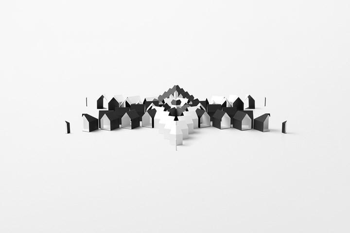 'Escher x nendo | Between Two Worlds', photo by Akihiro Yoshida