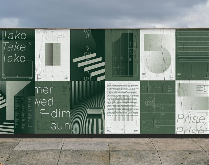 Poster designs by Caserne
