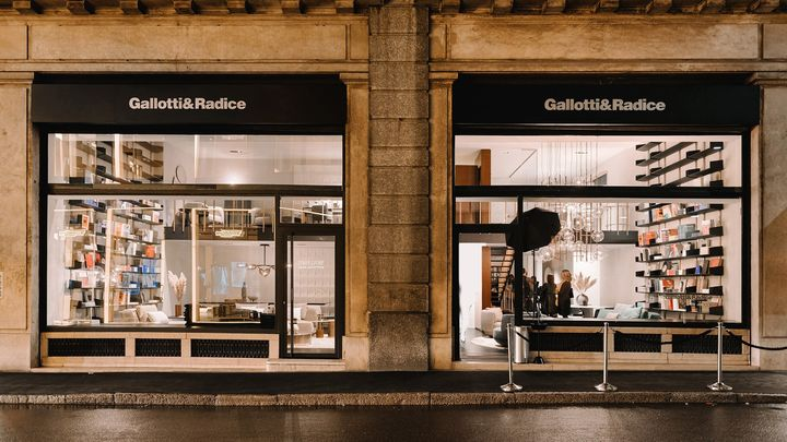 Inaugura a Milano il nuovo flagship store Gallotti&Radice