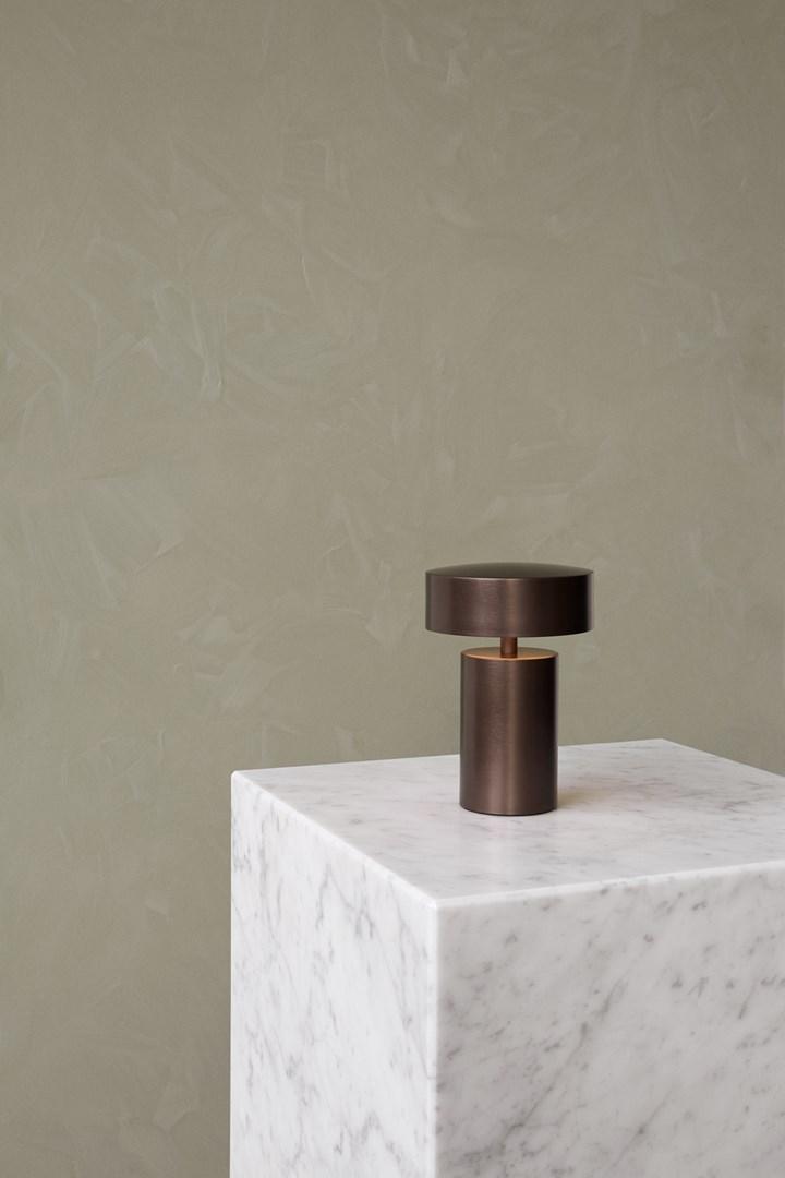 Column Table Lamp by Menu