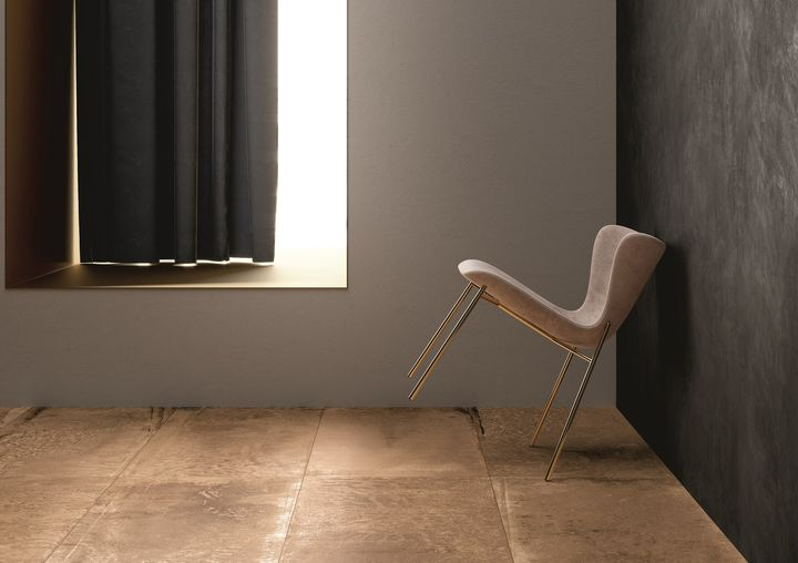 Concrete, Metallic Shades and Oxidation Effects