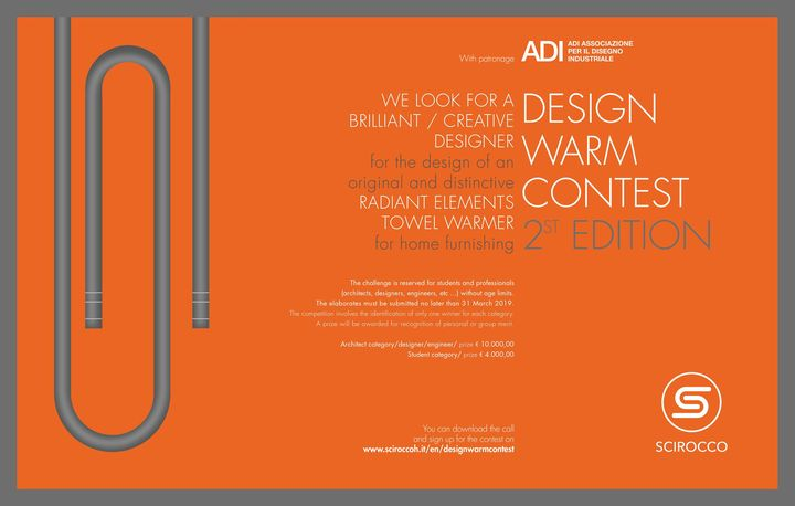 Al via la seconda edizione del Design Warm Contest