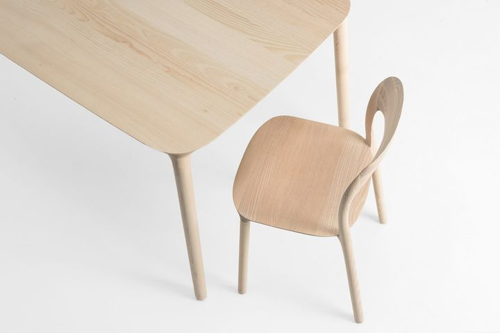 Elle Chair by MS&Wood