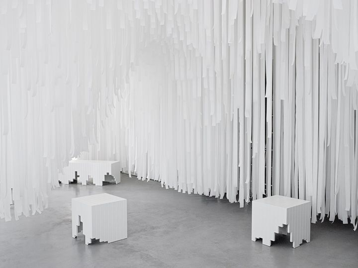 COS x Snarkitecture @ Salone del Mobile 2015. Ph. courtesy of COS