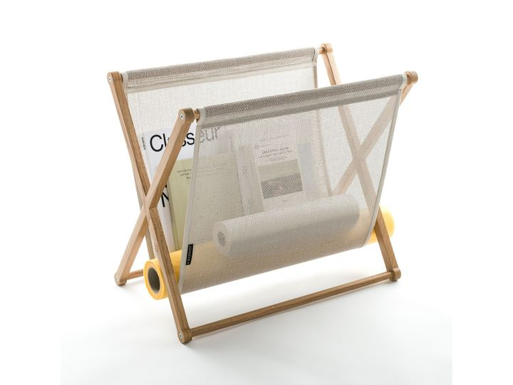 Magazine rack by Woodnotes