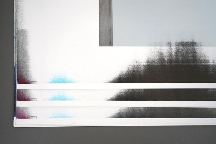 Scrap_CMYK by Rikako Nagashima for Kinnasand. Salone del Mobile installation