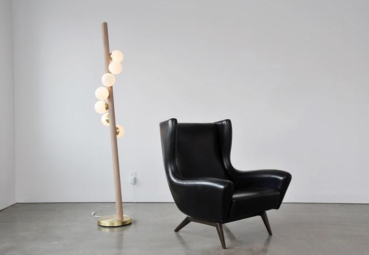 Willow floor lamp by Hollis+Morris